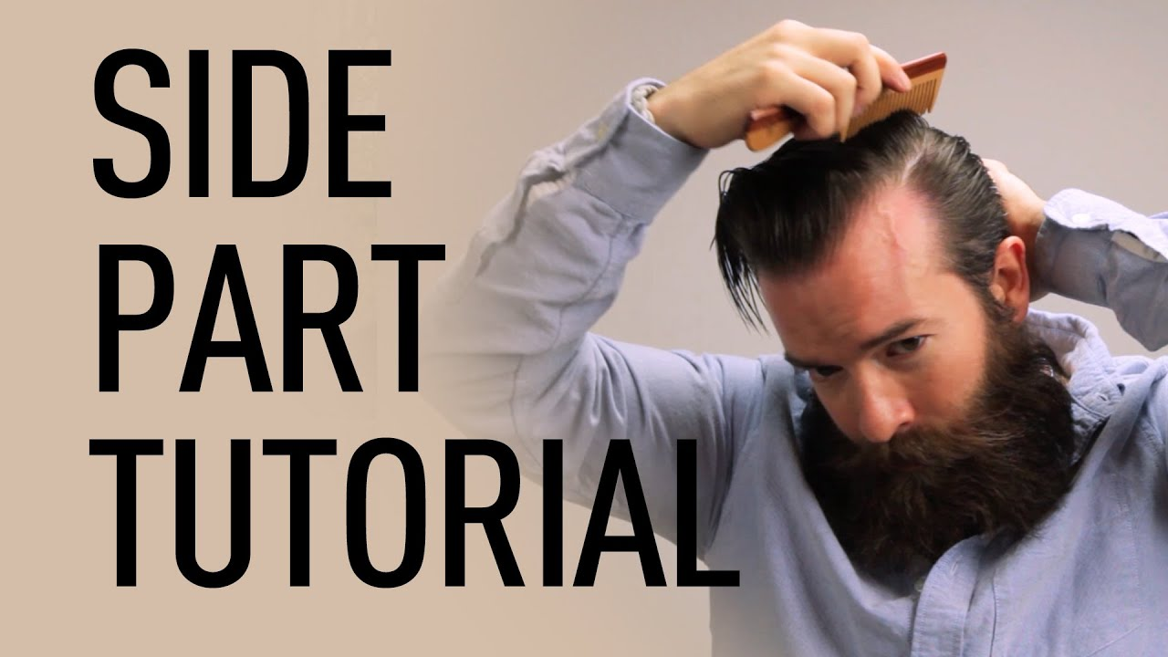 Side Parted Men S Hairstyle Jeff Buoncristiano Youtube