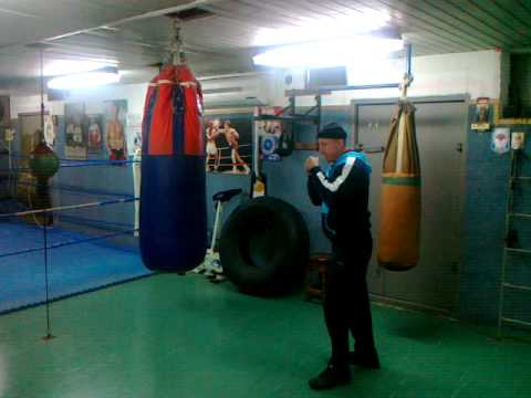advanced boxing heavy bag drills