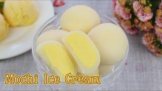 Cách làm bánh mochi kem lạnh cùng công thức kem xoài | Mochi Ice Cream