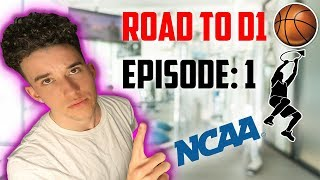 ROAD TO D1 BASKETBALL! (EPISODE: 1) First Workout/Fitness Vlog with NepDaStep!