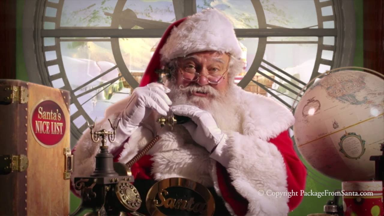 every letter from santa package includes a free personalized phone