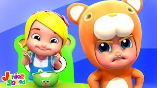 Goldilocks and The Three Bears   Kids Cartoon Stories   Nursery Rhymes & Story Songs by Kids Tv