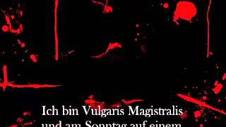Heidevolk - Vulgaris Magistralis (german subtitles)