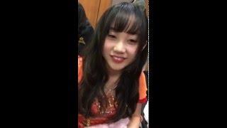 NMB48らしい。薮下柊(しゅう)、門脇佳奈子(かなきち)のヘンな歌。