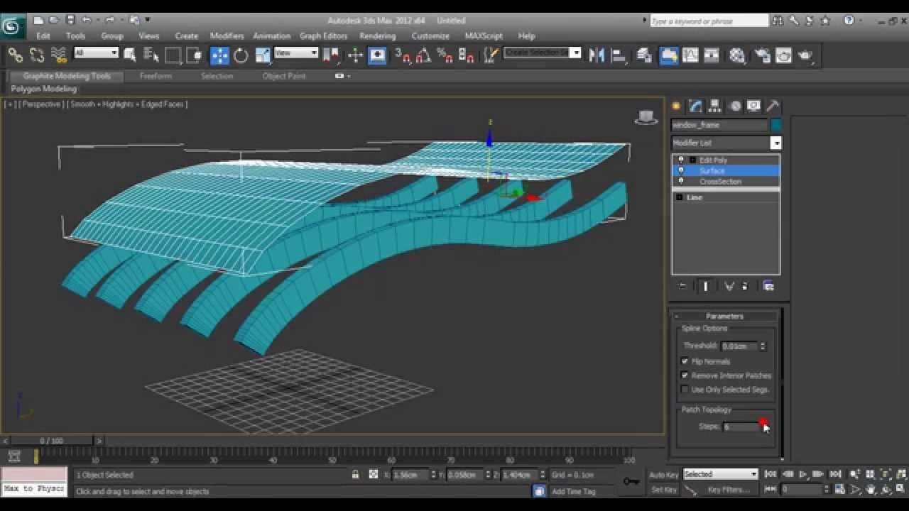 3ds max tutorial simple architectural surface youtube for 3d max lessons for beginners