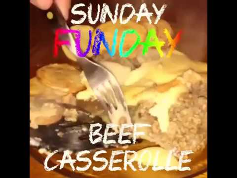 Sunday Funday Beef Casserole - Less Than 1 Dollar a Meal
