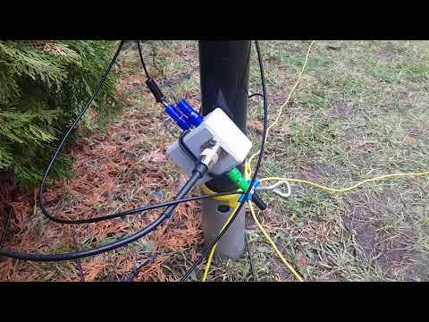 My Portable Antenna Setup. Triple Bazooka 80 / 40m + 1/4 Wave Vertical GP 40/20m