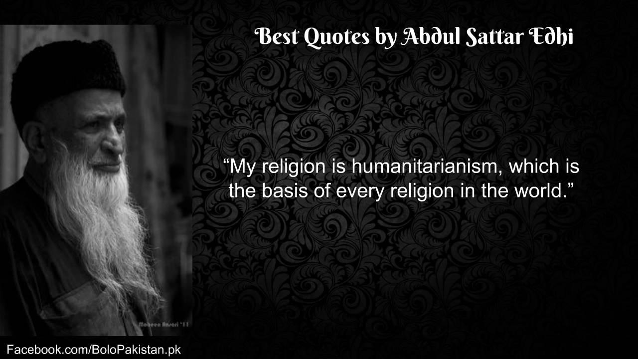 Image result for Abdul Sattar Edhi