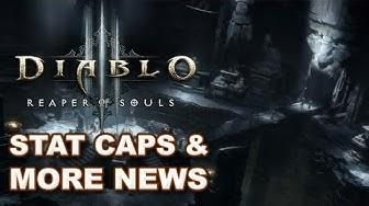 Diablo 3 Reaper of Souls News: Gear Stat Caps, Character Slots & Unique Mobs