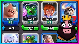 OMG NEW CLASH ROYALE RIP OFF CARDS GAMEPLAY !!! | Clash Royale