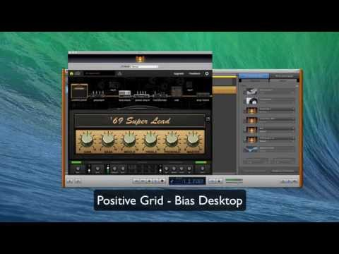 Positive Grid - Bias Deskop vs Amplitube 3 vs Guitar Rig 5
