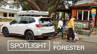 homepage tile video photo for 2021 Subaru Forester SUV Spotlight (ft. Sport Model)