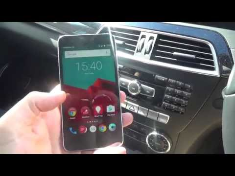 How To connect up your Mobile Cell Phone to a Mercedes Benz C Class W204