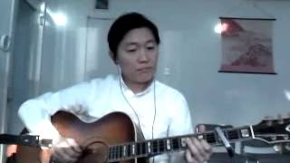 Ever best song in 80' Japanese pops in acoustic guitar solo arranged.