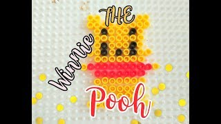 Winnie the Pooh • stop motion perler beads tutorial •