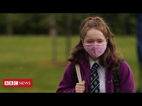 British government changes advice on wearing masks in English schools- BBC News