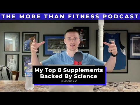 My Top 8 Supplements Backed By Science (Registered Dietitian Approved)