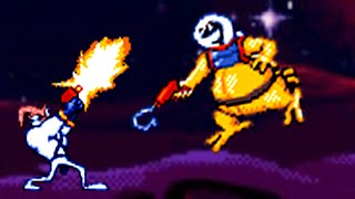 Earthworm Jim (Genesis) Playthrough (No Death)