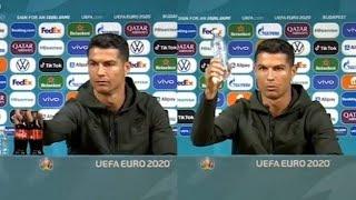Cristiano Ronaldo y su campaña incongruente contra la Coca Cola