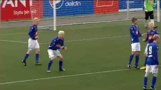 Best Goal Celebration ever!! - Fishing (Iceland football league)