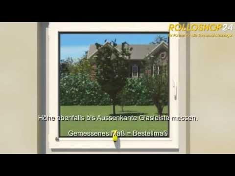 Rolloshop24 - Montage Plissee - Faltstore - Plissee