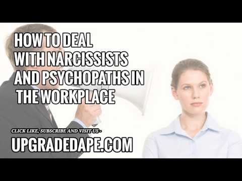 Bullied by Workplace Narcisssists and Psychopaths?