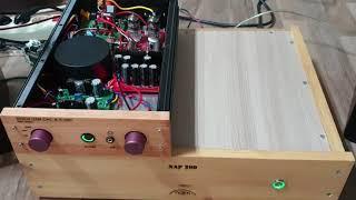 ES9038 출력커플링 콘덴서를 oil con으로 교체