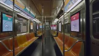 MTA Video Release  OUTFRONT Media Digital Screen Concepts   9 27 2017