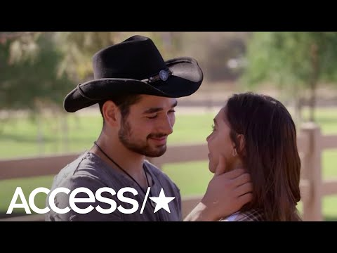Alexis Ren & Alan Bersten Share A Passionate Kiss On 'Dancing With The Stars'! | Access