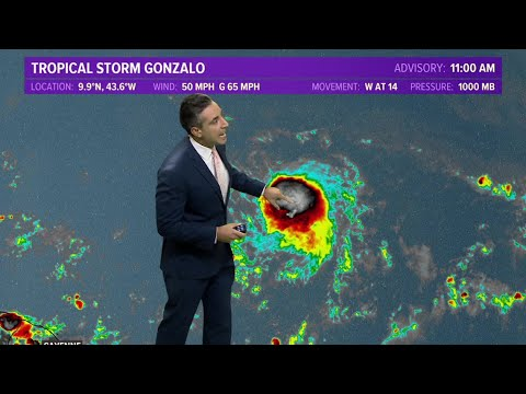 Tropical Storm Hanna Intensifies Just East of South Texas ...