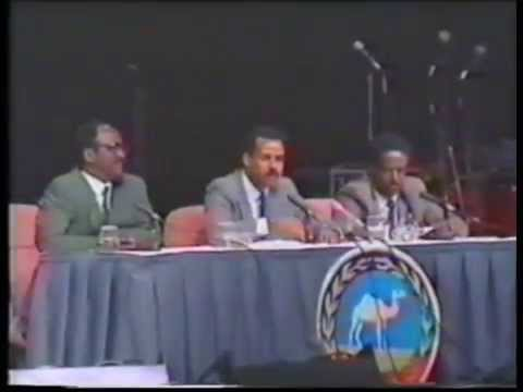 Isayas Afworki seminar USA 1993 P3