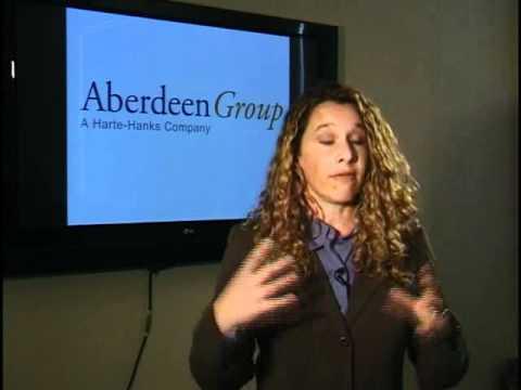 Aberdeen Group Relata los retos de la industria