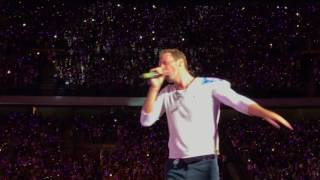 Coldplay live in Milan 3rd July 2017