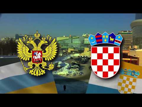 2018-02-13 Russia vs Croatia, Water Polo World League 2018, Game 4. Moscow, Olympiisky Sport Complex