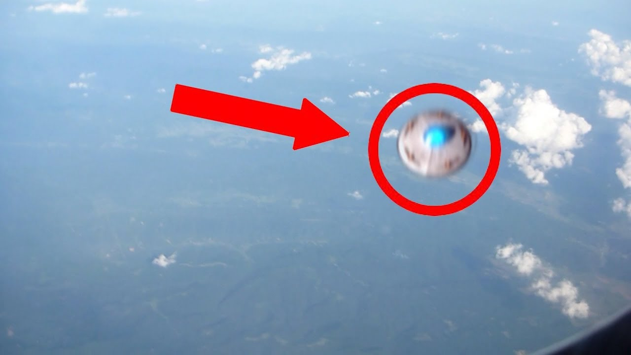 ufo seen by passenger on an airplane youtube
