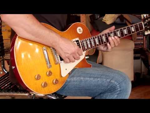 "2012 Gibson Les Paul Custom Shop Collectors Choice 4 ""Sandy"" Part1"