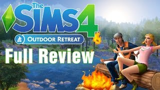 """The Sims 4 Outdoor Retreat"" (Full Review)"