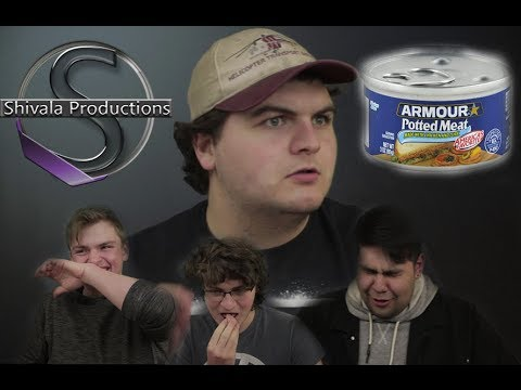 Drew Can BARELY Eat POTTED MEAT?!