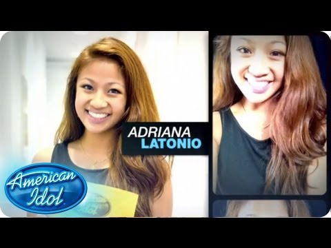 Meet Adriana Latonio - Meet the Top 40 - AMERICAN IDOL SEASON 12