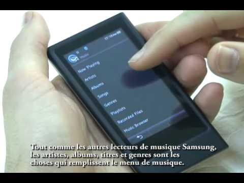 Ce nouveau baladeur mp3 de Samsung,le YP-P3 a adopte cette interface Haptic -1-