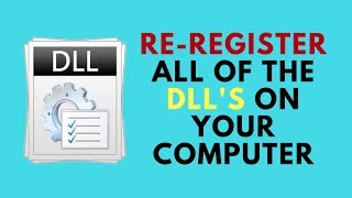 Re-Register all of the DLL's on your computer
