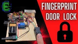 Fingerprint Door Lock with Ard…
