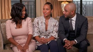 Alicia Keys on co-parenting with her husband and his ex-wife