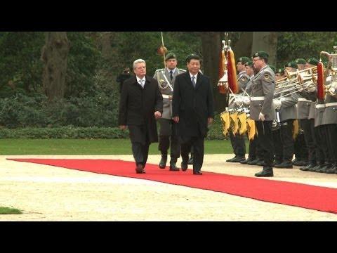 Chinese President Xi Jinping begins landmark visit to Germany