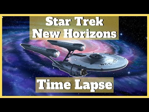Stellaris Star Trek New Horizons Timelapse |Rise and Fall of the Federation| |