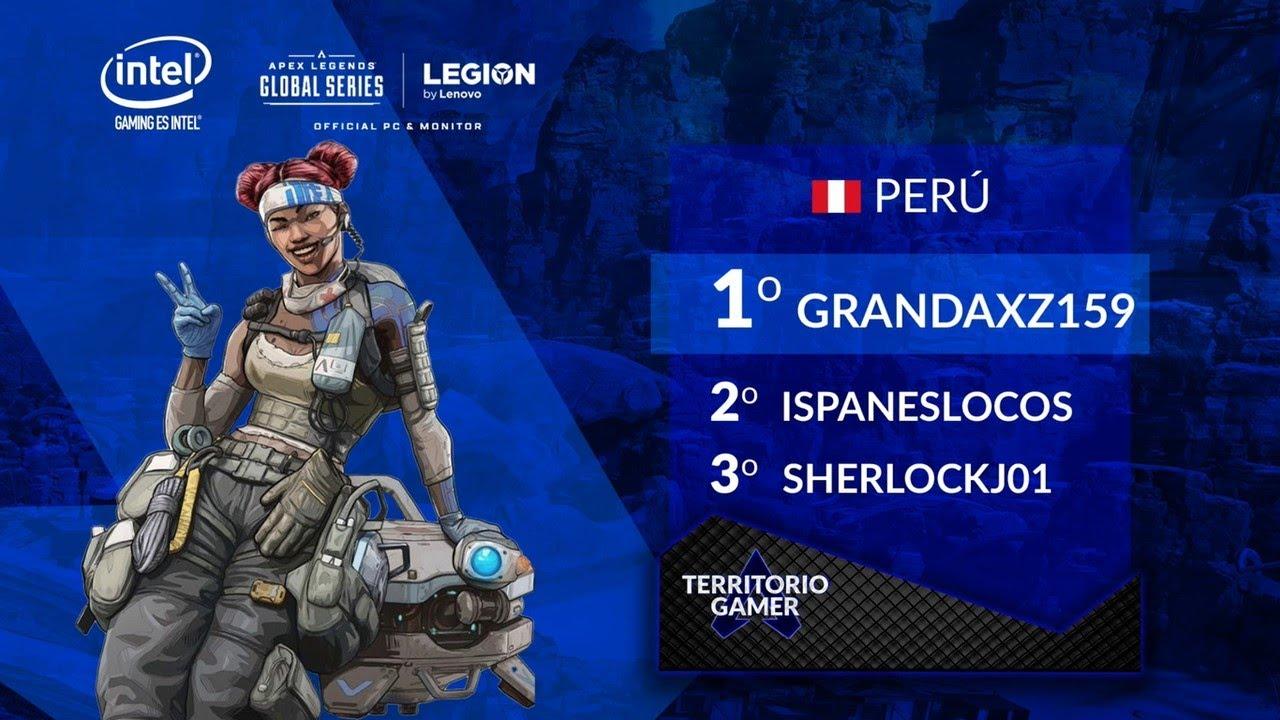 Top 3 Apex Legends Perú - Semana 2 de #TerritorioGamer