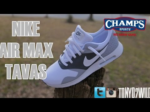 Nike Air Max Tavas w On Foot @ChampsSports