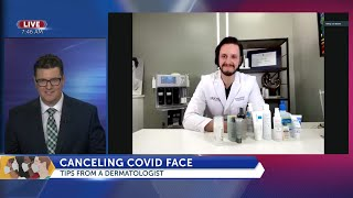 Canceling Covid Face Tips to protect mask covered skin