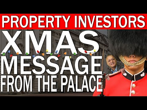 Xmas Message From The Buckingham Palace | UK Property Investing Special Message For 2021 Investors