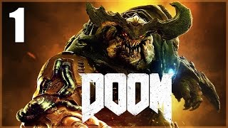 Doom (2016) - parte 1 español - walkthrough / let's play